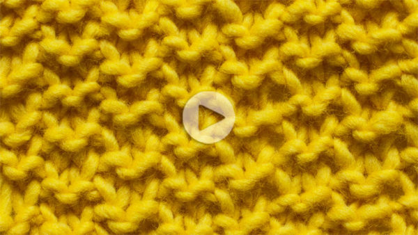 11 | Double Seed stitch